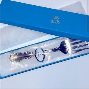 BIRKS Louis de France Regency Silver Plated Fork
